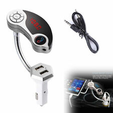 Car Kit Bluetooth FM Transmitter MP3 Player USB Charger for iPhone 8 X 7 6 6S 5S