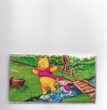 WINNIE THE POOH CHECKBOOK COVER PIGLET JUMPING ROCKS NEW FABRIC