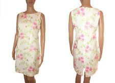 Petite Crew Neck Floral Formal Dresses for Women