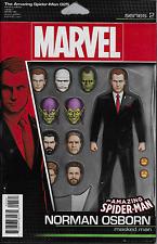 Marvel The Amazing Spiderman comic issue 25 Limited Norman Osborn figure variant