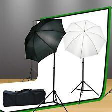 Fancierstudio Lighting Kit 800 Watt 3 x Muslin Backdrop 10'x20' Background St...
