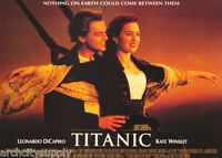 POSTER:MOVIE REPRO:  TITANIC - NOTHING ON EARTH - LEO & KATE - FREE SHIP  LC24 i