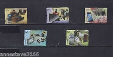 A VERY NICE AUSTRALIA 2012 GOOD/FINE USED NH S/A THEN AND NOW SET OF 5