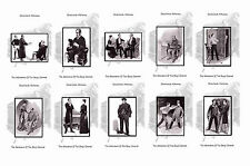 SHERLOCK HOLMES ILLUSTRATIONS- THE ADVENTURE OF THE BERYL CORONET - POSTCARD SET