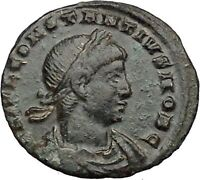 CONSTANTIUS II son of  Constantine the Great  Roman Coin Glory of  Army i36331