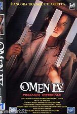 Omen IV: presagio infernale  666 (1991) VHS Fox  1a Ed. Michael Woods