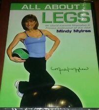 Mindy Mylrea - All About Legs (DVD, 2007)