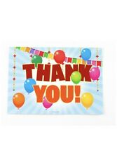 25 Kids Thank You Cards with Envelopes for Kids Birthday Thank You Notes