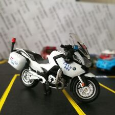 Die-cast Model 1:43 Taiwan Taipei City Police Dept Motorcycle BMW R1200RT Tiny