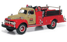 First Gear 1951 Ford F Series Pumper Truck Tractor Plant Protection 19-3980 1:34