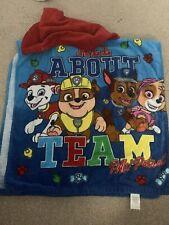 Paw Patrol Kids Hooded Towel