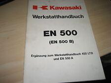 KAWASAKI ZX 550 B, HANDBUCH REPARATURANLEITUNG WERKSTATTBUCH WERKSTATTHANDBUCH