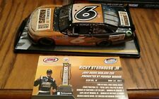 2011 #6 RICKY STENHOUSE JR ANGUS BEEF 1ST WIN RACED VERSION SIGNED  1/24