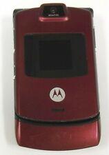 Motorola Razr V3m - Read and Black ( Alltel ) Cellular Flip Phone