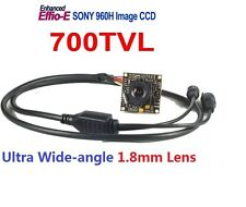 US Stock HD 700TVL Color Board Camera 1/3 Inch SONY CCD D-WDR OSD Menu BNC