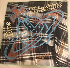 VIVIENNE WESTWOOD Draped Tartan Print Silk Square Scarf
