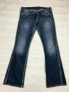 Silver Jeans Twisted Bootcut Womens Size 29x33 W29 L33