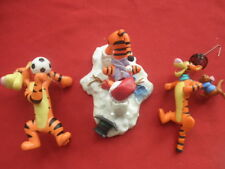 Lot of 3 Tigger the Tiger Ornaments Hallmark Keepsake 2003,2005,2006