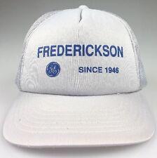 VTG Frederickson General Electric Trucker Hat GE Baseball Cap Mesh SnapBack 64d0490e96c3