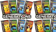 Lot of 60 X Pokemon Generations Booster Packs Sealed Unsearched Pack Boosters