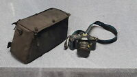 UNTESTED Olympus OM101 Vintage Film Camera with Zoom Lens, Case Grade B For Part