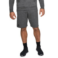 Under Armour Mens Rival Fleece Shorts Pants Trousers Bottoms Grey Sports Gym
