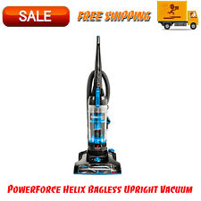 PowerForce Helix Bagless Upright Vacuum, Lightweight & Maneuverable, Blue Color