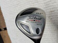 New listing Titliest 980F 15* 3 Wood X-stiff, Fujikura Vista Tour Series 70 X Flex shaft