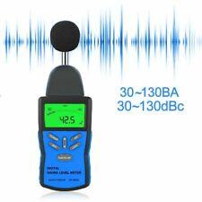 Digital Sound Meter 30130db Decibel Noise Level Tester Measurement Bar Graph