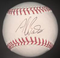 ALAN BENES Signed Autographed Baseball Cardinals Cubs Rangers ROMLB