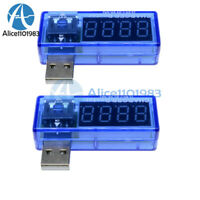 2PCS USB Charger Doctor Voltage Current Meter Battery Tester Power Detector