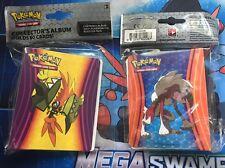 Pokemon Sun Moon Guardians Rising Tapu Koko Lycanroc MINI Album 60 Card Binders