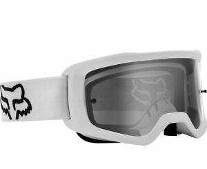 Fox Racing Main Stray Goggle White Mask MTB Dirt Downhill New