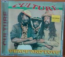 Culture, Peace and Love Cd