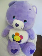 "CARE BEARS  HARMONY BEAR JUMBO  26"" PLUSH 2003"