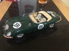 1:18 Jaguar E Type Cabriolet RALLYE MONTECARLO Edition Die cast Classic Car