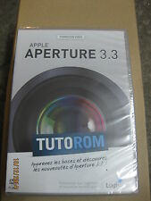 TUTOROM Formation APPLE Aperture 3.3 sur DVD neuf