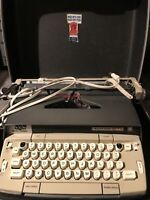 Vintage Smith Corona Electra 120 Portable Electric Typewriter w/Case