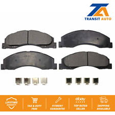 Front TEC Ceramic Brake Pads Fits Ford E-150 E-250 Econoline E-350 Super Duty