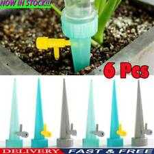 6Automatic Self-Watering Plant Watering Bottle Water Drip Irrigation Device Tool