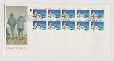 AUSTRALIA POST  SPORT SERIES 1 FIRST DAY COVER  13/2/1989 MINT & UNADDRESSED