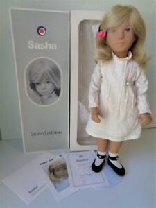 Vintage Sasha FAIR HAIR PINTUCKS Limited Edition Doll #1982/2771 in Box with COA