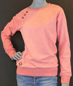 Ragwear Damen Sweatshirt DARIA rose blau