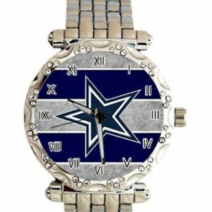 Dallas Cowboys Women's NFL Luxury Stainless Steel Watch - (RARE) NEW