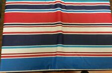 "FLANNEL BACK VINYL TABLECLOTH 52"" x 104"", MULTI COLORS by AP"