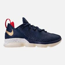 Men's Nike Lebron XIV Low 878636  400  Midnight Navy shoes SIZE 11
