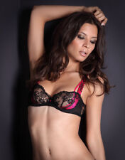 AGENT PROVOCATEUR Maddy Sujetador Negro/Rosa Talla 30DD BNWT RRP £ 125