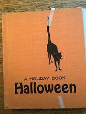 New ListingVintage 1960's Halloween A Holiday Book By Lillie Patterson With Cover