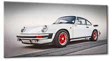Leinwand Bild Porsche 911 Oldtimer Carrera CS RS 2.7 G-Modell Rot Sportwagen GTR