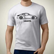 Porsche Boxster 718 Cayman Inspired Car Art Men's T-Shirt